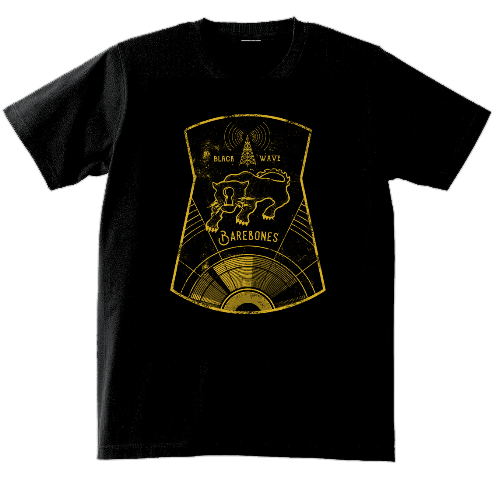 ベアボーンズ BLACK WAVE T-Shirts